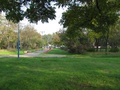Парк на улице Островского.